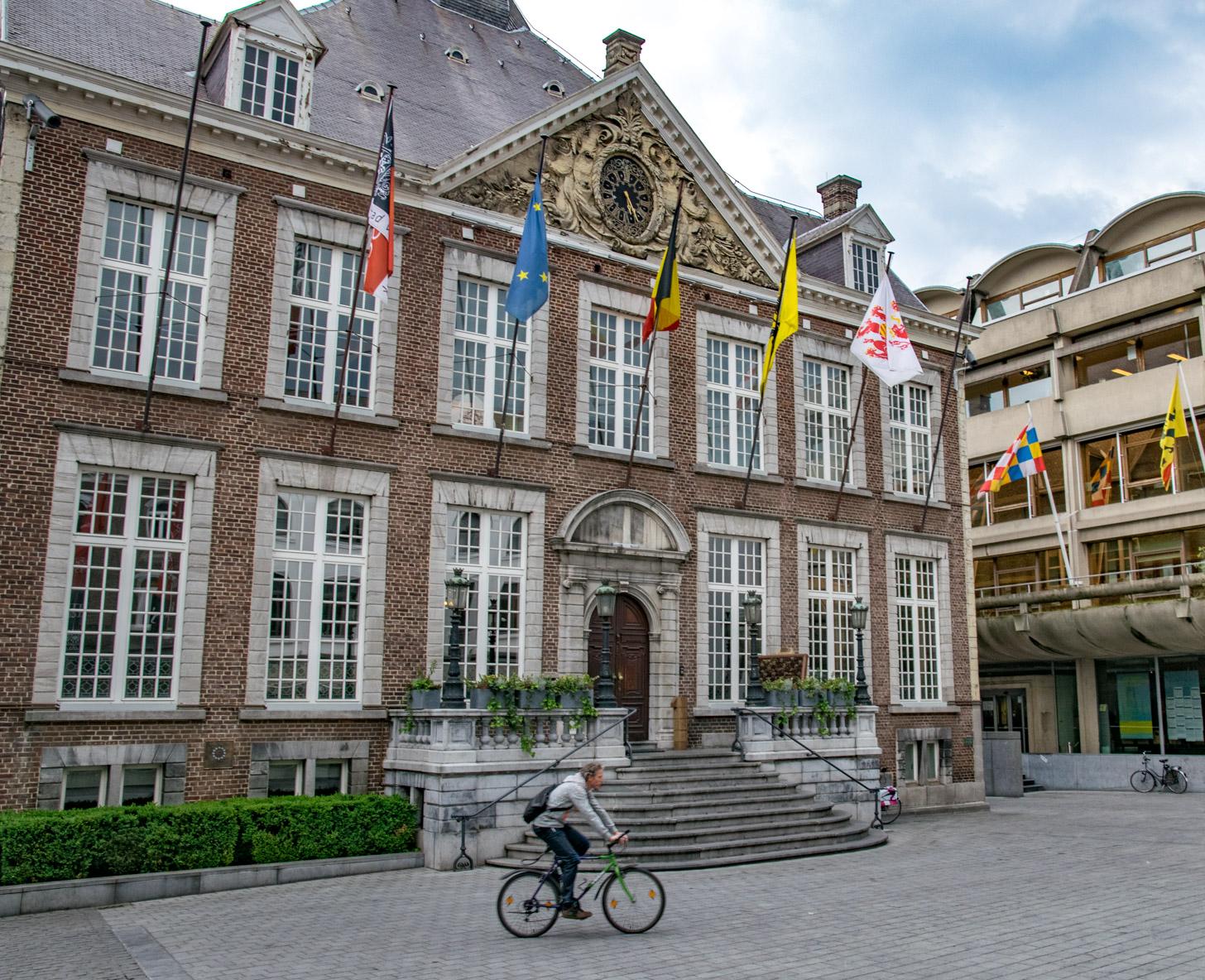 Het stadhuis van Hasselt