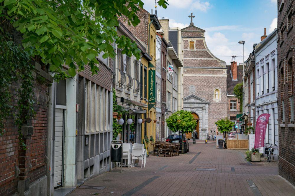Straatje in het centrum van Hasselt