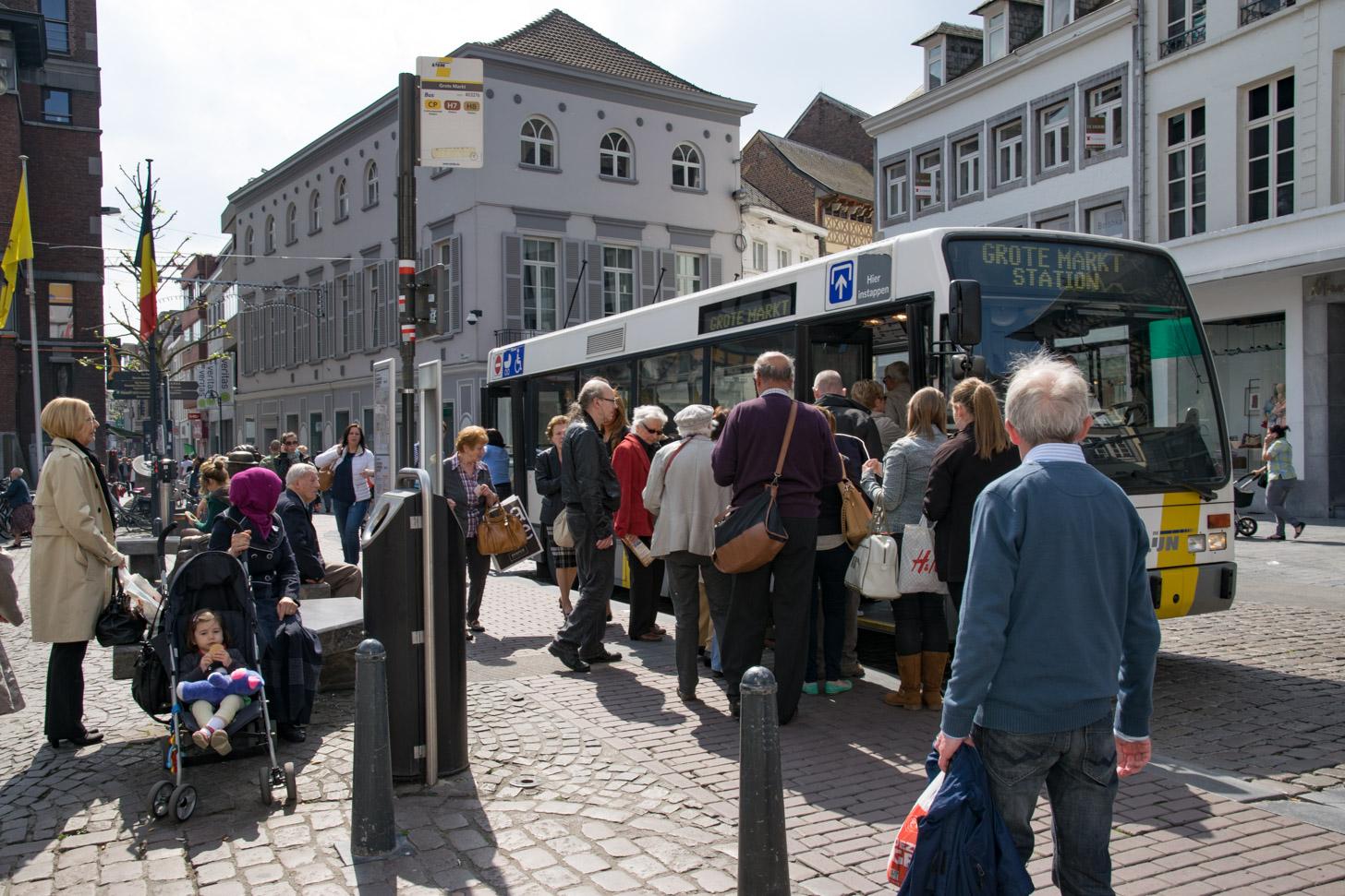 De bus van De Lijn