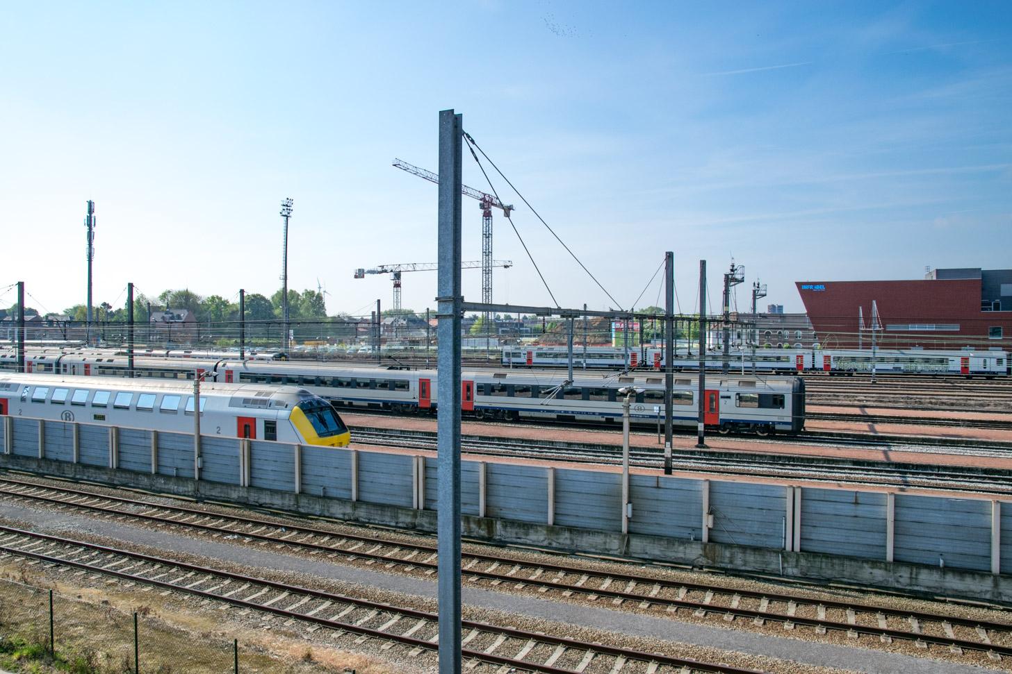 Met de trein naar Hasselt